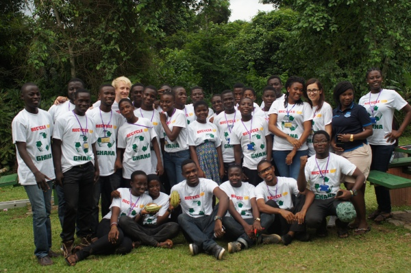 Mentors, Participants and Volunteers at Kakum Park.