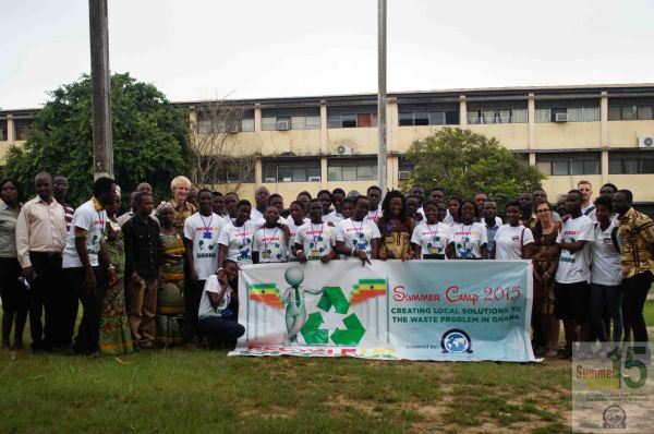 Picture from #RecycleUpGhana